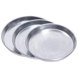 "Deep Dish Aluminium Pizza Pan 1"" Deep"