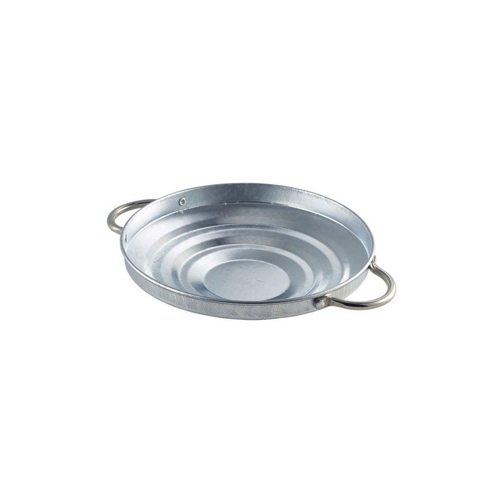 """Stainless Steel Round Basket 9.1//2/""""Diameter Tableware Serving"""