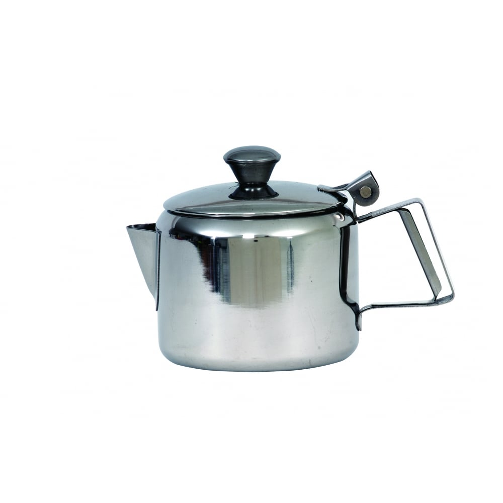 Kitchen Worktops For Sale Ireland: Genware Stainless Steel Teapot - 2.85 Litre