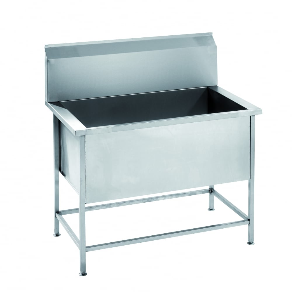 Kitchen Worktops For Sale Ireland: Parry Stainless Steel Utility Sink 1200mm USINK1200